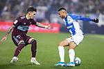CD Leganes's  Youssef En-Nesyri (R) and RC Celta de Vigo's Dimitrios Siovas during La Liga match 2019/2020 round 16<br /> December 8, 2019. <br /> (ALTERPHOTOS/David Jar)