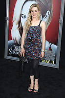 Alison Lohman at the premiere of Warner Bros. Pictures' 'Dark Shadows' at Grauman's Chinese Theatre on May 7, 2012 in Hollywood, California. ©mpi26/ MediaPunch Inc.