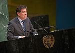 GA 72<br /> High-level meeting of the General Assembly on the appraisal of the United Nations Global Plan of Action to Combat Trafficking in Persons<br /> 25th plenary meeting<br /> <br /> PERU