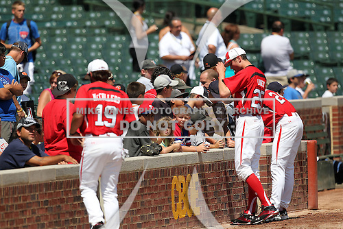 Images from the 2010 Under Armour All-American Game powered by Baseball Factory at Wrigley Field in Chicago, Illinois on August 14, 2010.  (Copyright Mike Janes Photography)