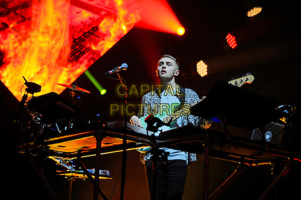 LONDON, ENGLAND - November 29: Guy Lawrence of Disclosure performs in concert at the Brixton Academy on November 29, 2013 in London, England<br /> CAP/MAR<br /> © Martin Harris/Capital Pictures