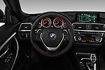 Car pictures of steering wheel view of a 2017 BMW 3-Series-GT Sport 5 Door Hatchback Steering Wheel