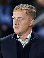 Swansea City manager Garry Monk during the Capital One Cup match between Hull City and Swansea City played at the Kingston Communications Stadium, Hull