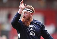 8th September 2020; Ashton Gate Stadium, Bristol, England; Premiership Rugby Union, Bristol Bears versus Northampton Saints; Jake Woolmore of Bristol Bears warms up