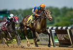 June 5, 2021: Scenes from an undercard race on Belmont Stakes Day at the Belmont Stakes Festival at Belmont Park in Elmont, New York. Alex Evers/Eclipse Sportswire/CSM