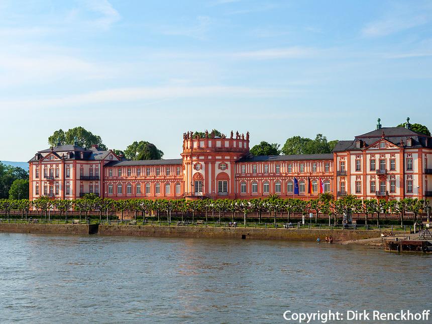 Schloss Biebrich, Wiesbaden, Hessen, Deutschland, Europa<br /> Schloss Biebrich, Wiesbaden, Hesse, Germany, Europe