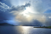 SC - Prov. ARGYLL<br /> Dark weather front drifting over  Loch Linnhe<br /> <br /> Full size: 69,2 MB
