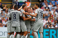 GOAL - Marvin Plattenhardt of Hertha Berlin is mobbed after his goal during the pre season friendly match between Crystal Palace and Hertha BSC at Selhurst Park, London, England on 3 August 2019. Photo by Carlton Myrie / PRiME Media Images.