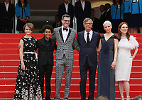 'Wonderstruck' Red Carpet Arrivals - The 70th Annual Cannes Film Festival<br /> CANNES, FRANCE - MAY 18: (L-R) Screenwriter Brian Selznick, actress Millicent Simmonds, actor Jaden Michael, director Todd Haynes, actress Julianne Moore and Michelle Williams attend the 'Wonderstruck' screening during the 70th annual Cannes Film Festival at Palais des Festivals on May 18, 2017 in Cannes, France