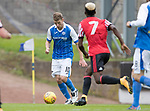 St Johnstone v Sunderland…15.07.17… McDiarmid Park… Pre-Season Friendly<br />David Wotherspoon scores the second goal<br />Picture by Graeme Hart.<br />Copyright Perthshire Picture Agency<br />Tel: 01738 623350  Mobile: 07990 594431
