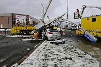 accident<br />  de la route, 2018<br /> <br /> PHOTO : Agence Quebec Presse