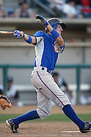 September 1 2008: Justin Fuller of the Inland Empire 66'ers during game against the Rancho Cucamonga Quakes at The Epicenter in Rancho Cucamonga,CA.  Photo by Larry Goren/Four Seam Images