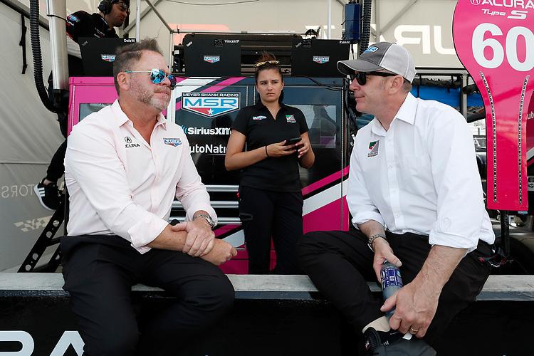 #60: Meyer Shank Racing w/Curb-Agajanian Acura DPi, DPi: Michael Shank, Maddie Komar, Matt Cleary