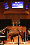 Hip #115 Hilda's Passion consigned by Taylor Made Sales Agency sold for $1,225,000 to KATSUMI YOSHIDA at the Fasig Tipton November sale on November 6, 2011.