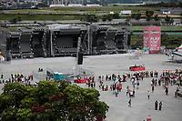 SAO PAULO, SP 06.04.2019: LOLLAPALOOZA-SP - Tempo fechado, com risco de temporal e vendaval paralisa o festival Lollapalooza Brasil 2019, que acontece de 05 a 07 de abril no Autodromo de Interlagos, zona sul da capital paulista. (Foto: Ale Frata/Codigo19)