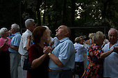 Kiev, Ukraine<br /> August 21, 2005 <br /> <br /> Sunday evening dancing at Gidropark.