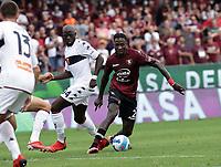 2nd October 2021; Arechi Stadium, Salerno, Italy; Serie A football, Salernitana versus Genoa : Mamadou Coulibaly of Salernitana