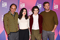 """director, Luca Guadagnino, Esther, Garrel, Timothee Chalamet and Armie Hammer<br /> at the London Film Festival 2017 photocall for the film """"Call Me by Your Name"""" at the Mayfair Hotel, London<br /> <br /> <br /> ©Ash Knotek  D3326  09/10/2017"""