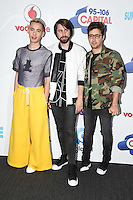 Years and Years<br /> at the Capital Radio Summertime Ball 2016, Wembley Arena, London.<br /> <br /> <br /> ©Ash Knotek  D3132  11/06/2016