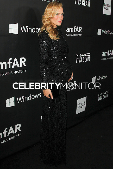 HOLLYWOOD, LOS ANGELES, CA, USA - OCTOBER 29: Molly Sims arrives at the 2014 amfAR LA Inspiration Gala at Milk Studios on October 29, 2014 in Hollywood, Los Angeles, California, United States. (Photo by Celebrity Monitor)