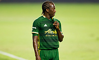 CARSON, CA - OCTOBER 07: Diego Chara #21 of the Portland Timbers during a game between Portland Timbers and Los Angeles Galaxy at Dignity Heath Sports Park on October 07, 2020 in Carson, California.
