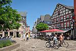 Deutschland, Rheinland-Pfalz, Ahrtal, Bad Neuenahr-Ahrweiler, Stadtteil Ahrweiler: Marktplatz | Germany, Rhineland-Palatinate, Ahr-Valley, Bad Neuenahr-Ahrweiler, district Ahrweiler: market square