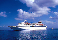 The cruise ship SS Song of America, Atlantic ocean, 05-1015, Ship, Royal Caribbean Cruise Line. Caribbean Sea.
