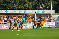 9th October 2021;  VBS Community Stadium, Sutton, London; EFL League 2 football, Sutton United versus Port Vale; Sutton United equalise for 2-2 from an own goal by Garrity of Vale