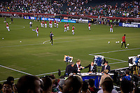 ESPN, Lincoln Financial Field. The USMNT tied Mexico, 1-1, during their game at Lincoln Financial Field in Philadelphia, PA.