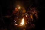 women burning coffee ( Qohaito)