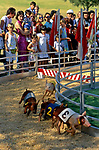 Pig racing event at the San Fernado Valley Country Fair