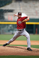 Arizona Diamondbacks pitcher Pierce Romero (37) during an instructional league game against the San Francisco Giants on October 16, 2015 at the Chase Field in Phoenix, Arizona.  (Mike Janes/Four Seam Images)