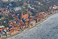 Lauenburg : EUROPA, DEUTSCHLAND, HAMBURG, SCHLESWIG-HOLSTEIN, LAUENBURG (EUROPE, GERMANY), 08.01.2009:  Lauenburg an der Elbe,