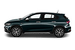 Car Driver side profile view of a 2021 Fiat Tipo-Cross - 5 Door Hatchback Side View