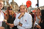ANTONIO DI PIETRO<br /> MANIFESTAZIONE PER LA LIBERTA' DI STAMPA PROMOSSA DAL FNSI<br /> PIAZZA DEL POPOLO ROMA 2009
