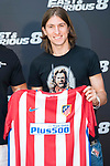 "Atletico de Madrid's Filipe Luis during the presentation of the film ""Fast & Furious 8"" at Hotel Villa Magna in Madrid, April 06, 2017. Spain.<br /> (ALTERPHOTOS/BorjaB.Hojas)"