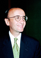 Montreal, June 10, 1999 File Photo of<br /> New York Stock Exchange (NYSE) President<br /> Richard Grasso .<br /> Photo  by Pierre Roussel, (c) 1999