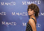 """Ariana DeBose attends the Meet & Greet for """"Summer: The Donna Summer Musical"""" on March 8, 2018 at the New 42nd Street Studios,  in New York City."""