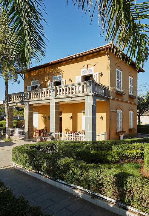 """The French Custom House In Mengzi (Mengtse)Which Resides In """"The French Garden""""."""