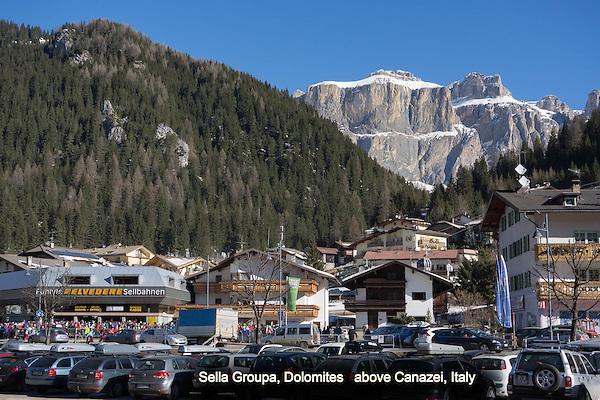 Canazei, Belvedere gondola, Italy