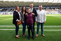 Lee Trundle of Swansea City during the Sky Bet Championship match between Swansea City and Middlesbrough at the Liberty Stadium in Swansea, Wales, UK. Saturday 06 April 2019