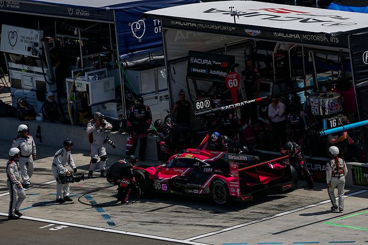#60: Meyer Shank Racing w/Curb-Agajanian Acura DPi, DPi: Olivier Pla, Dane Cameron, Pit Stop