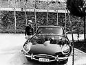 Iran 1976 <br />Vourya Sadegh Vaziri in Tehran, near the Jaguar of his uncle  <br />Iran 1976 <br />A Téhéran, Vourya Sadegh Vaziri a cote de la Jaguar de son oncle.