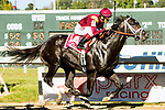 BENSALEM, PENNSYLVANIA - SEPT 23:  Coal Front #1A, ridden by John Velazquez , wins the Gallant Bob Stakes at  Parx Racing on September 23, 2017 in Bensalem, Pennsylvania ( Photo by Sue Kawczynski/Eclipse Sportswire/Getty Images)