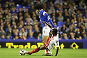 Roarie Deacon of Stevenage tackles Marouane Fellaini of Everton<br />  - Everton v Stevenage - Capital One Cup Second Round - Goodison Park, Liverpool - 28th August, 2013<br />  © Kevin Coleman 2013