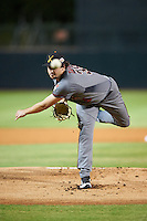 Salt River Rafters pitcher Josh Taylor (38), of the Arizona Diamondbacks organization, during a game against the Glendale Desert Dogs on October 19, 2016 at Camelback Ranch in Glendale, Arizona.  Salt River defeated Glendale 4-2.  (Mike Janes/Four Seam Images)