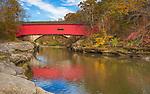 Parke County, IN: The Narrows Bridge (1882) on Sugar Creek at Turkey Run State Park