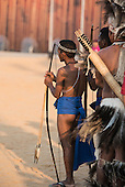 An Aeta indigenous archer from the Phillipines waits to compete at the International Indigenous Games, in the city of Palmas, Tocantins State, Brazil. Photo © Sue Cunningham, pictures@scphotographic.com 24th October 2015
