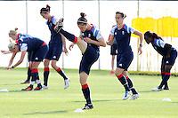 Team GB Women training at Cardiff University, Cardiff, Wales - 27/07/12 - MANDATORY CREDIT: Gavin Ellis/SHEKICKS/TGSPHOTO - Self billing applies where appropriate - 0845 094 6026 - contact@tgsphoto.co.uk - NO UNPAID USE.