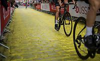 "up the Yellow Brick Road<br /> <br /> ""Le Grand Départ"" <br /> 104th Tour de France 2017 <br /> Team Presentation in Düsseldorf/Germany"